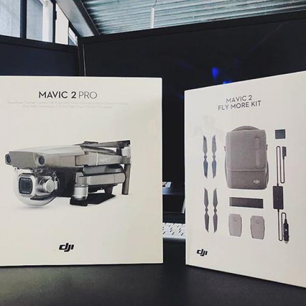 Welcome to the family #dji #mavic2pro #new #drone #robsnewtoy #wirsinddieguten